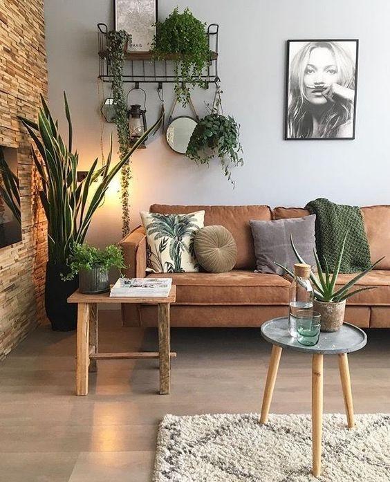rustic living room 27