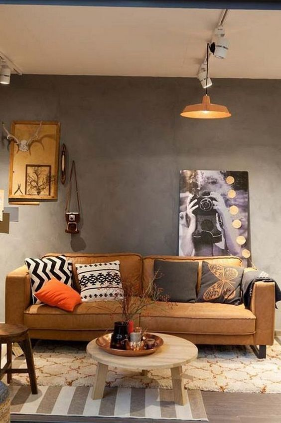 rustic living room 8