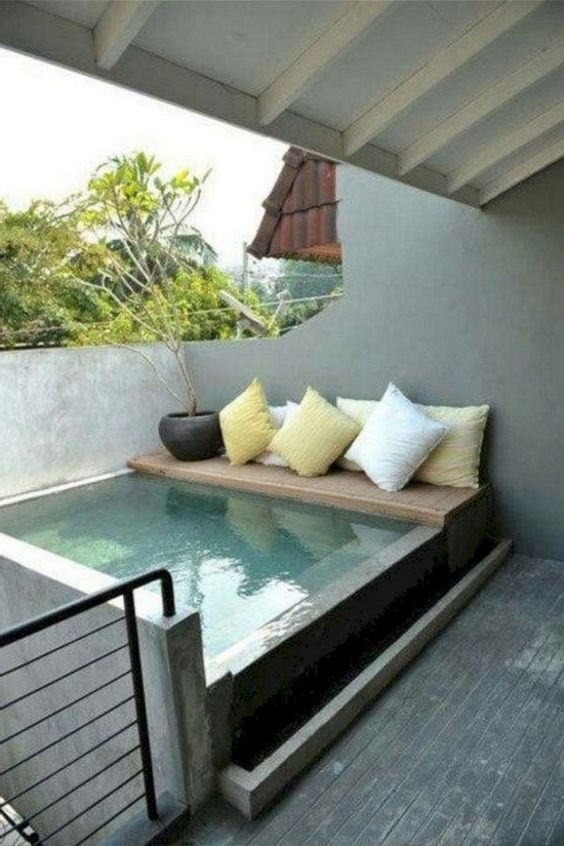 25 Simple Small Swimming Pool Ideas For Minimalist Home Recipegood