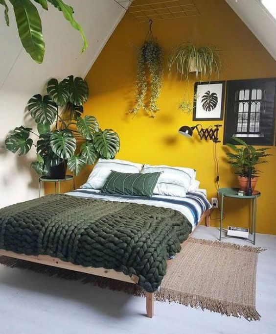 yellow bedroom ideas 1