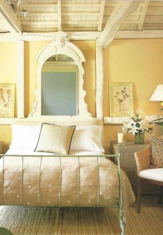 yellow bedroom ideas 10