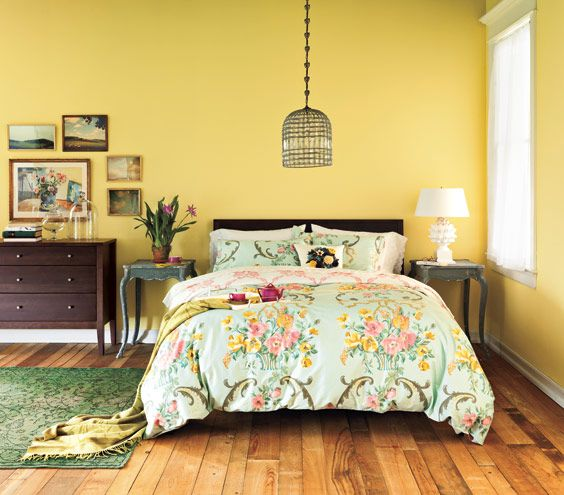 yellow bedroom ideas 14