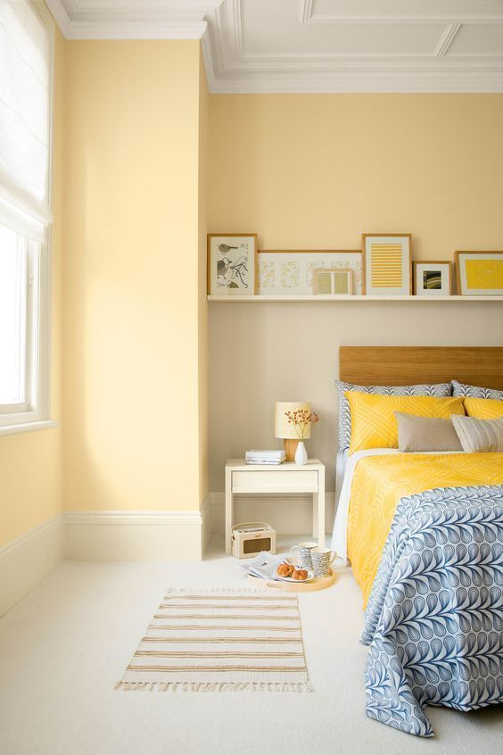 yellow bedroom ideas 3