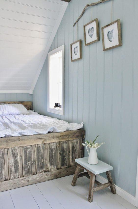 Attic Bedroom Ideas: Soft Rustic Decor