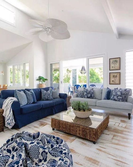 blue living room ideas 14