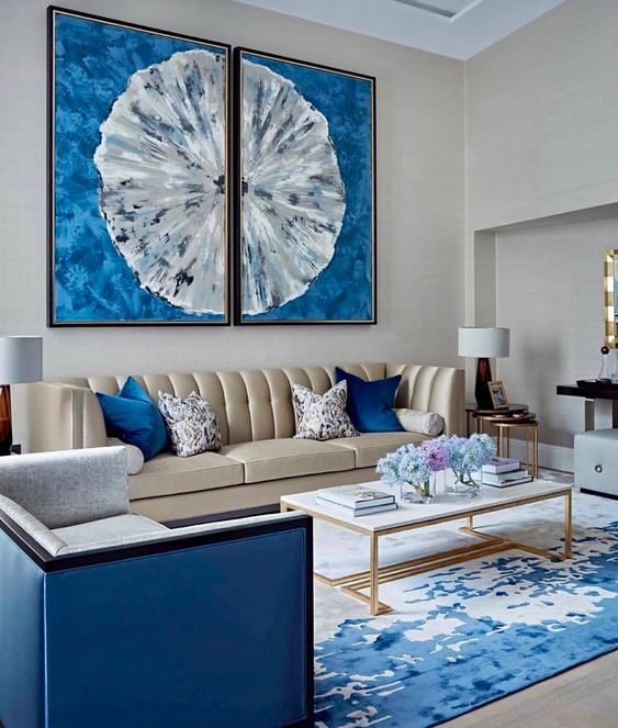 blue living room ideas 19