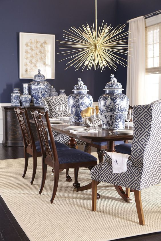 eclectic dining room 22