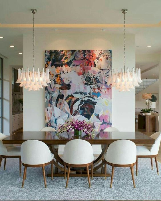 eclectic dining room 23