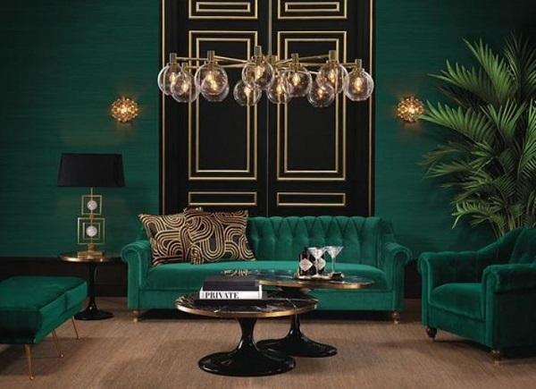 25 Stylishly Refreshing Green Living Room Ideas To Steal Recipegood