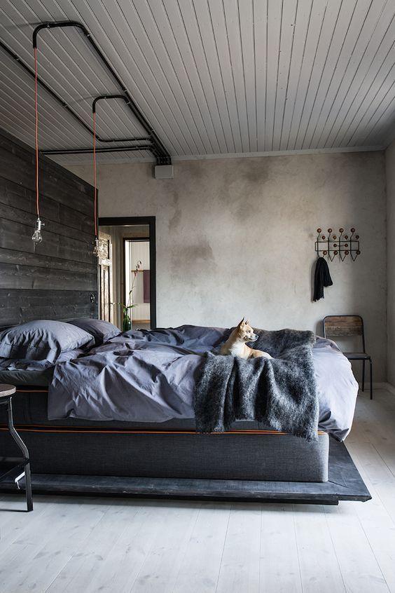 industrial bedroom ideas 11
