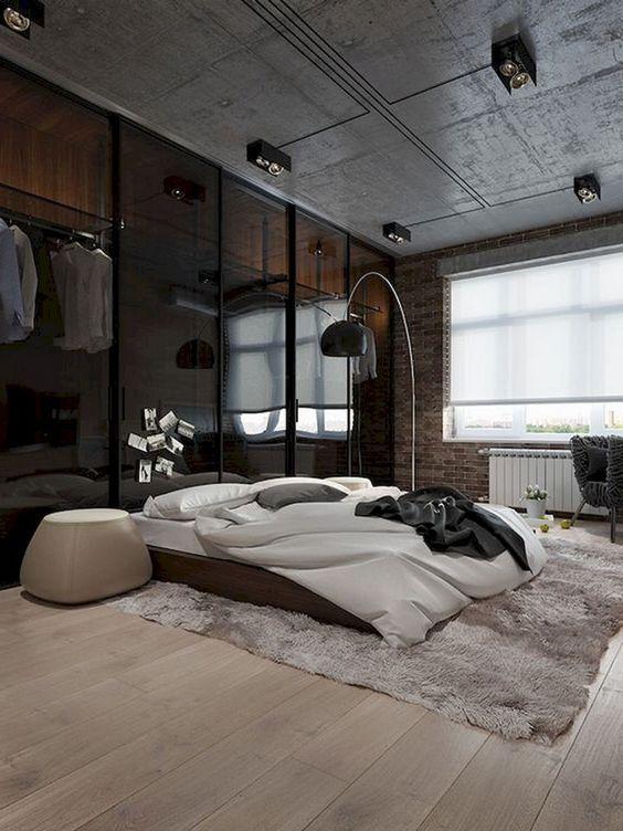 industrial bedroom ideas 20