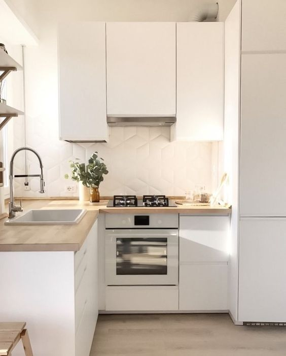 Tiny Kitchen Ideas: Stylish Minimalist Decor