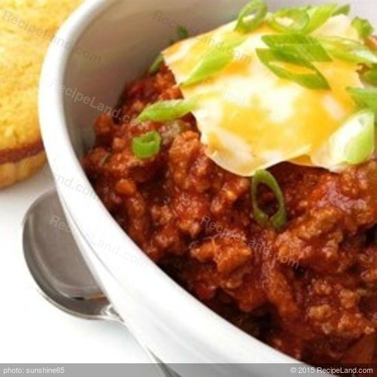 Chili Beanless Easy Recipes