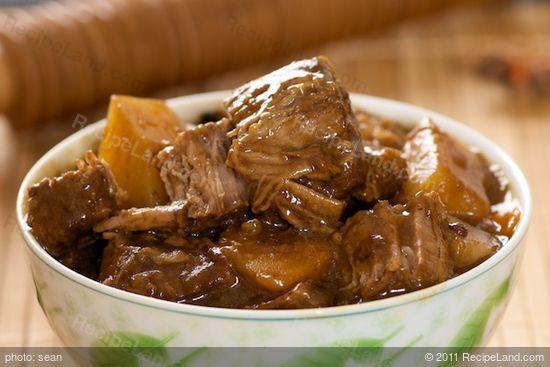 Chinese Beef Stew recipe | RecipeLand.com