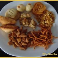 ದೀಪಾವಳಿ ತಿಂಡಿಗಳು/Deepavali snacks