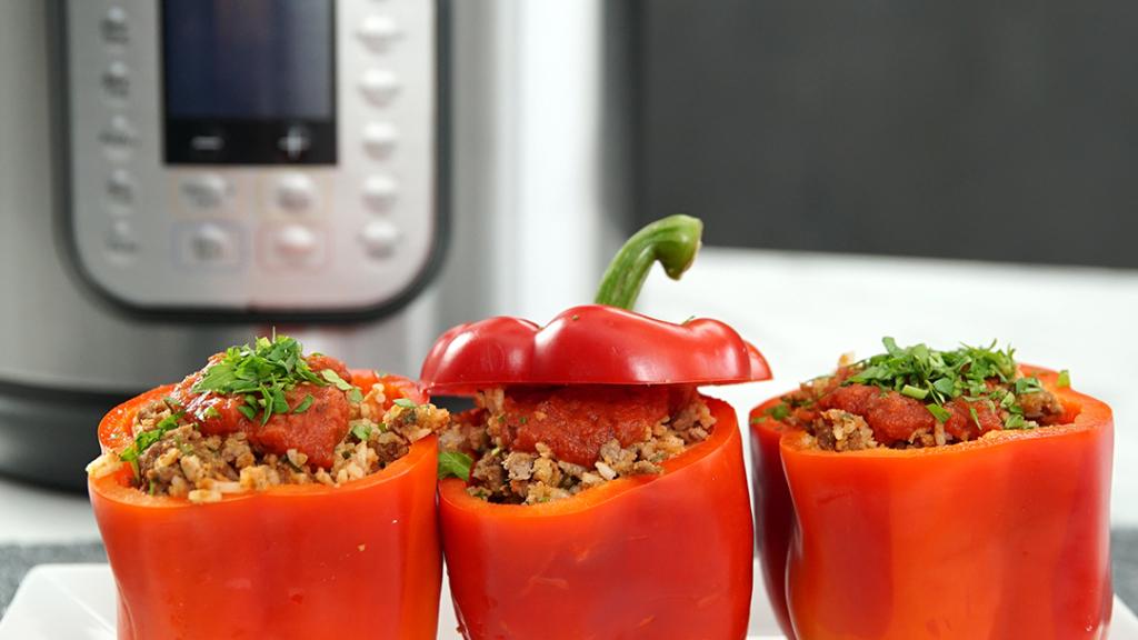 classic stuffed peppers instant pot