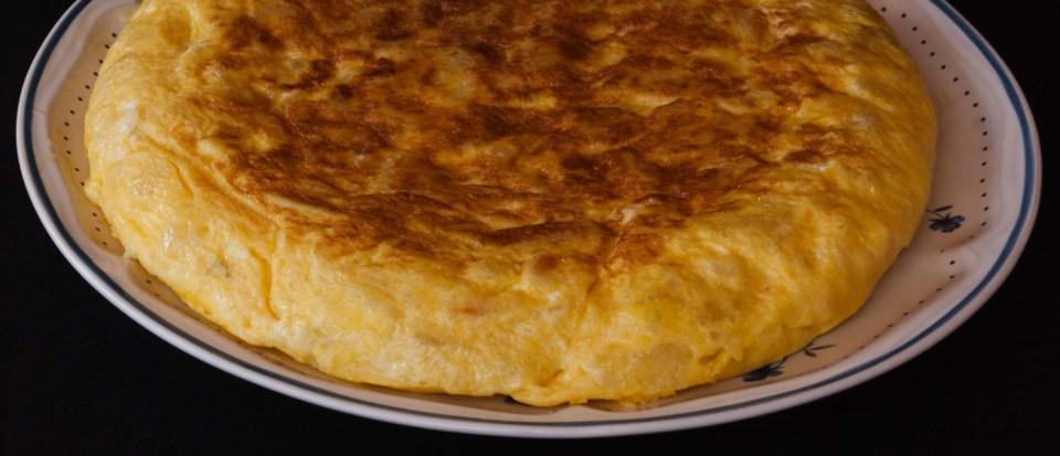 fluffy spanish omelet