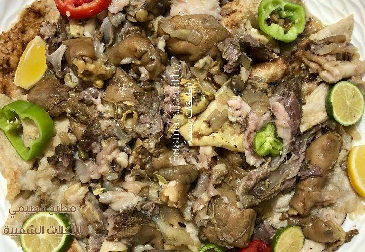 وصفة اكلة باجة عراقية سهله ولذيذه بالصور trotter recipe