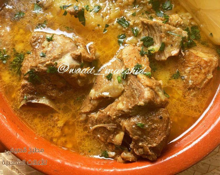 وصفة طبخ اكلة برمة لحم غنم في قدر الفخار بالصور pottery pot recipe