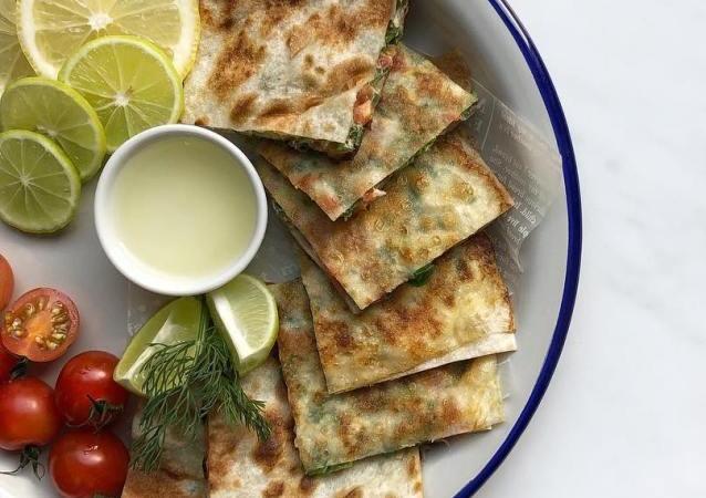 مطبق مالح هند الفوزان vegetarian murtabak recipe