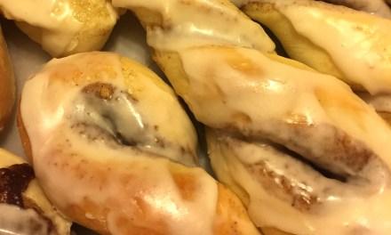 Sweet Roll Dough (for Orange Rolls and Cinnamon Twists)
