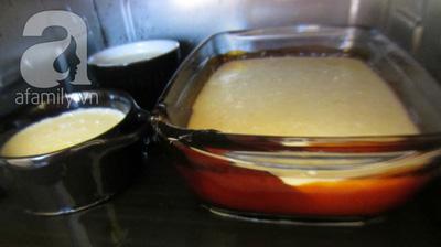 Mềm mịn thơm phức bánh flan chanh dừa 15