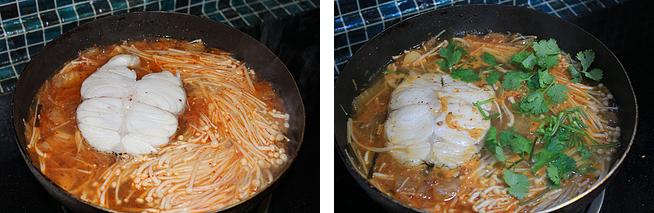Cá tuyết sốt kim chi – giao thoa giữa hai nền ẩm thực Nhật Hàn