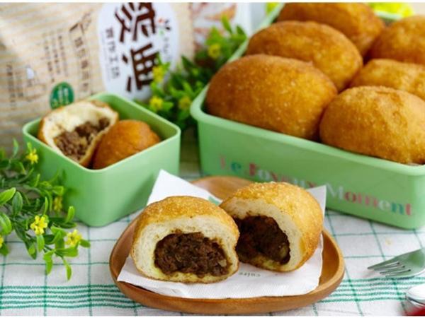 Hướng dẫn làm bánh rán nhân cà ri kiểu Nhật cực nhanh, ăn rất hấp dẫn - 15