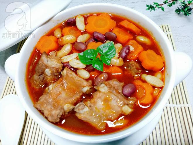 Món ngon cuối tuần: Sườn nấu đậu - Ảnh 6.