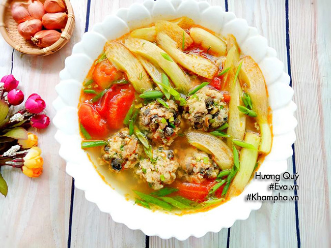 Canh ốc nấu chua thơm ngon đưa cơm ngày nắng nóng - 9