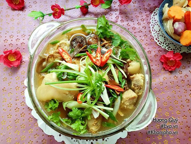 Canh măng khô móng giò mềm ngon mang hương vị truyền thống ngày Tết - 10