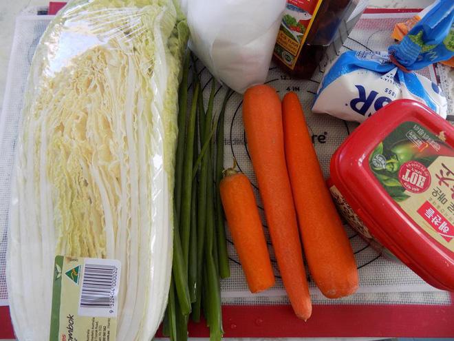 Cách làm kim chi cải thảo cà rốt thuần Việt giòn ngon - Ảnh 2.