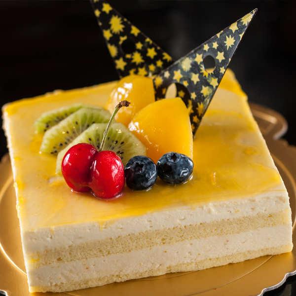 Mango Mousse Cake Recipe How To Make Mango Mousse Cake