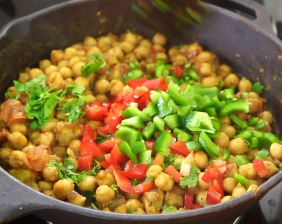 Healthy Chickpea/Channa Salad Recipe For Weight Loss -Easy Dinner Salad Recipes To Lose Weight Fast-
