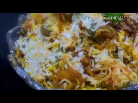 How to make chicken damm biryani recipe | hindi | tasty snack for family | by Jebin khan's kichten