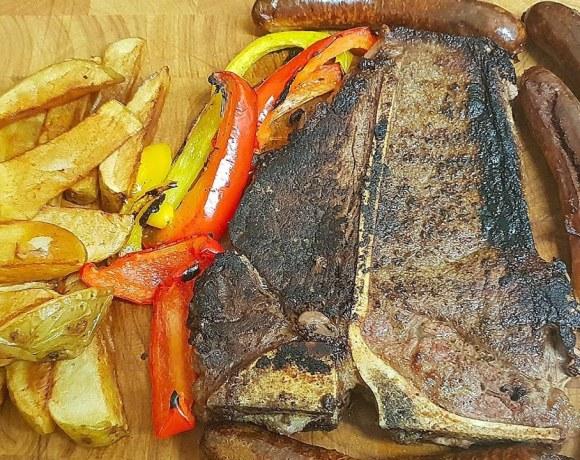 T-bone Steak Dinner | Steak Recipe's | How to cook a T-bone