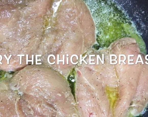 Chicken breast steak recipe