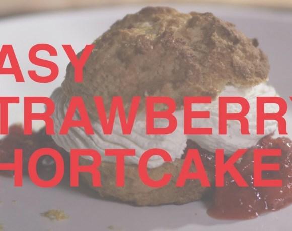 Strawberry Shortcake | Easy Date Night Recipe (Vertical Video)
