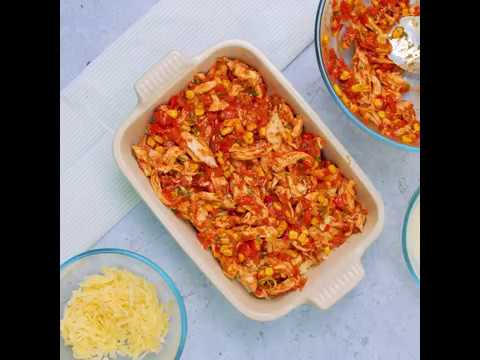 Good Housekeeping | Dinner Recipes | Chicken Fajita Lasagne