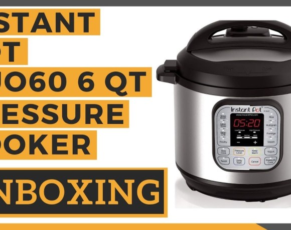 Instant Pot DUO60 6 Qt 7-in-1 Multi Use Programmable Pressure Cooker Unboxing