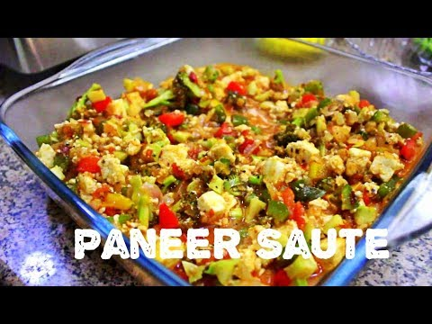 My Healthy Dinner Recipe- Paneer Saute I Healthy Dinner Option I Healthy Food I Your Weekend Diary