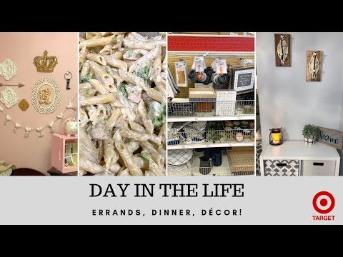 DAY IN THE LIFE + TARGET DOLLAR SPOT | CLEAN WITH ME + DINNER RECIPE | GROCERY HAUL | SAHM DITL