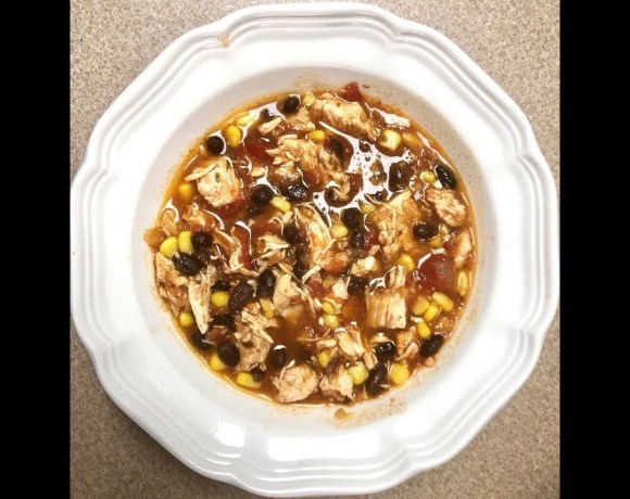 Instant Pot Spicy Chicken Soup (it isn't really spicy)