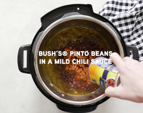 Love & Zest's Instant Pot Chicken Enchilada Chili
