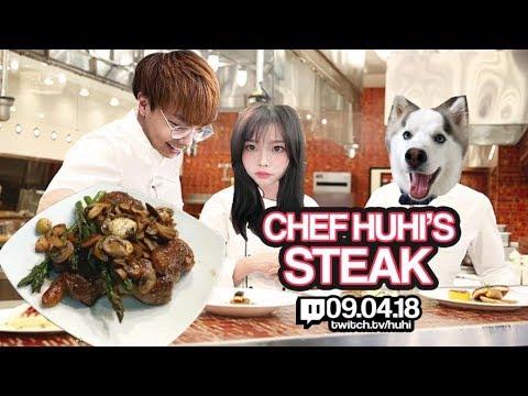 woori EATS: chef huhi's trademark porterhouse steak