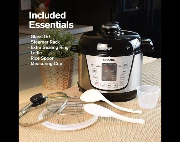Cosori Pressure Cooker Review: Instant Pot vs  Cosori