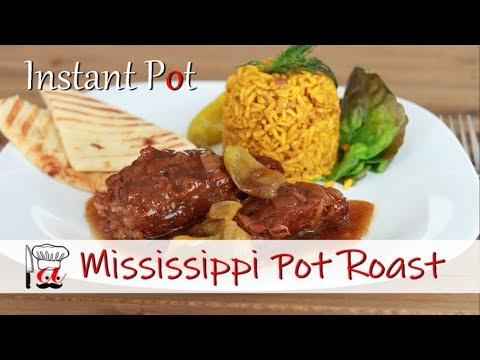 Mississippi Pot Roast | Instant Pot Recipes