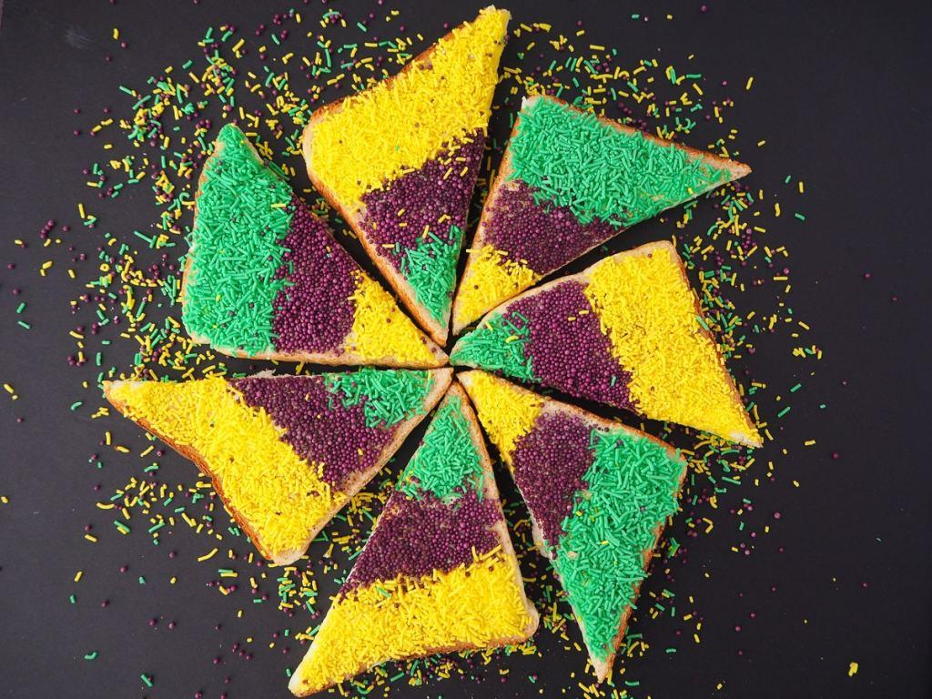 King Cake Sprinkles Bread recipe