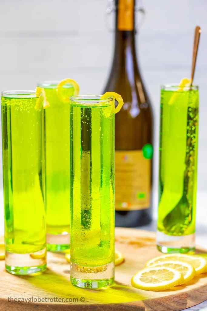 Green Prosecco Cocktail recipe