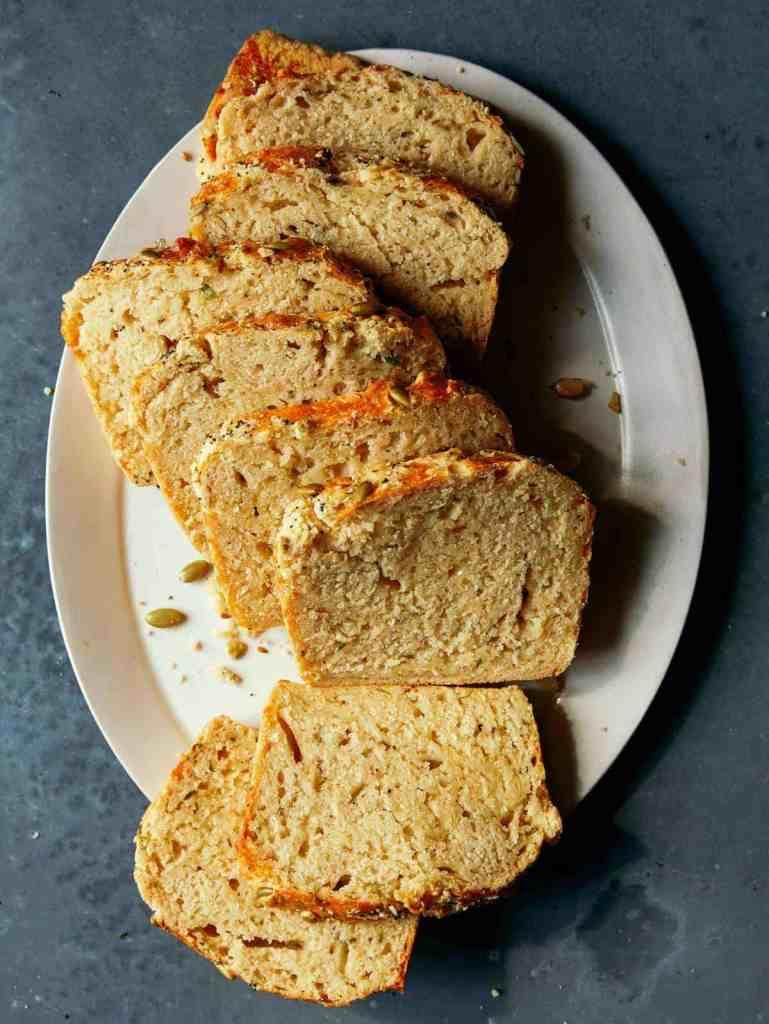 Cheesy Herb Beer Bread recipe